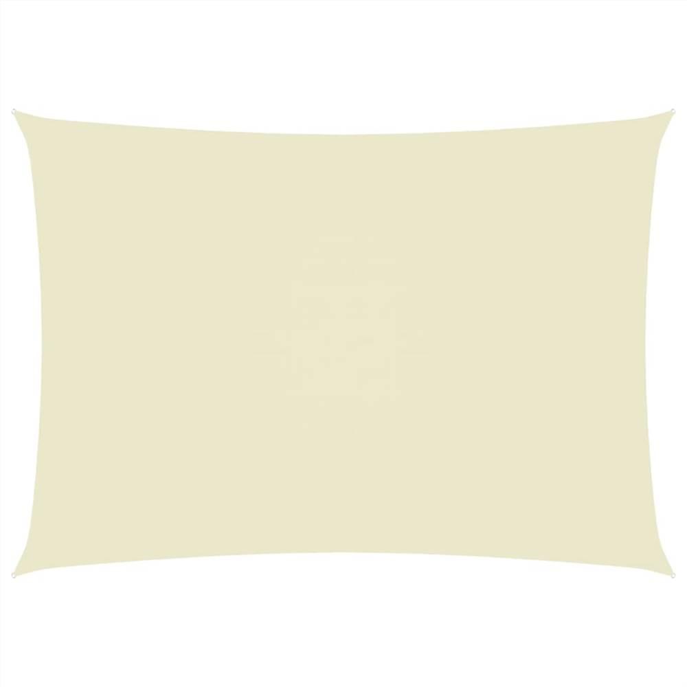 Sunshade Sail Oxford Fabric Rectangular 2.5x4.5 m Cream