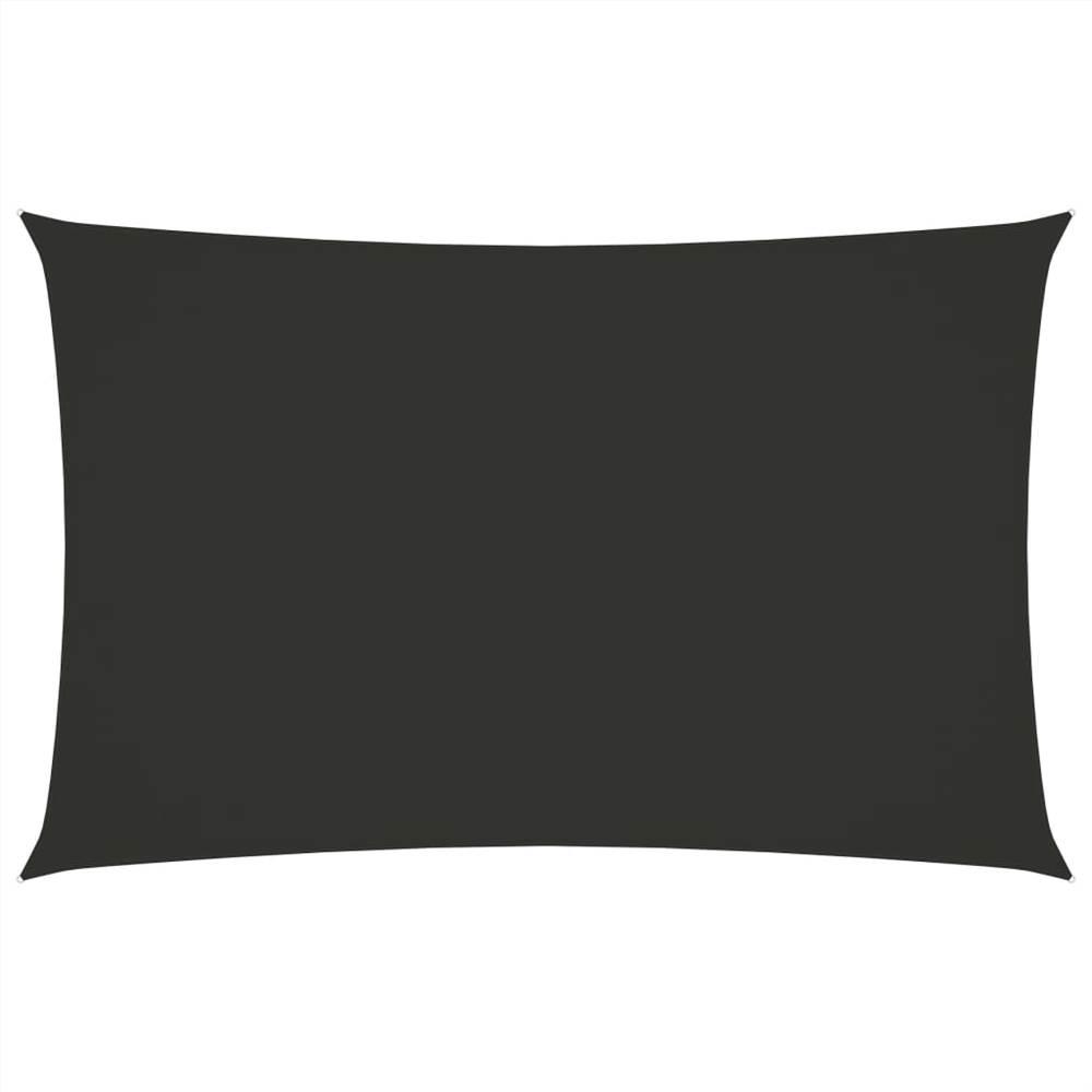 Sunshade Sail Oxford Fabric Rectangular 2.5x5 m Anthracite