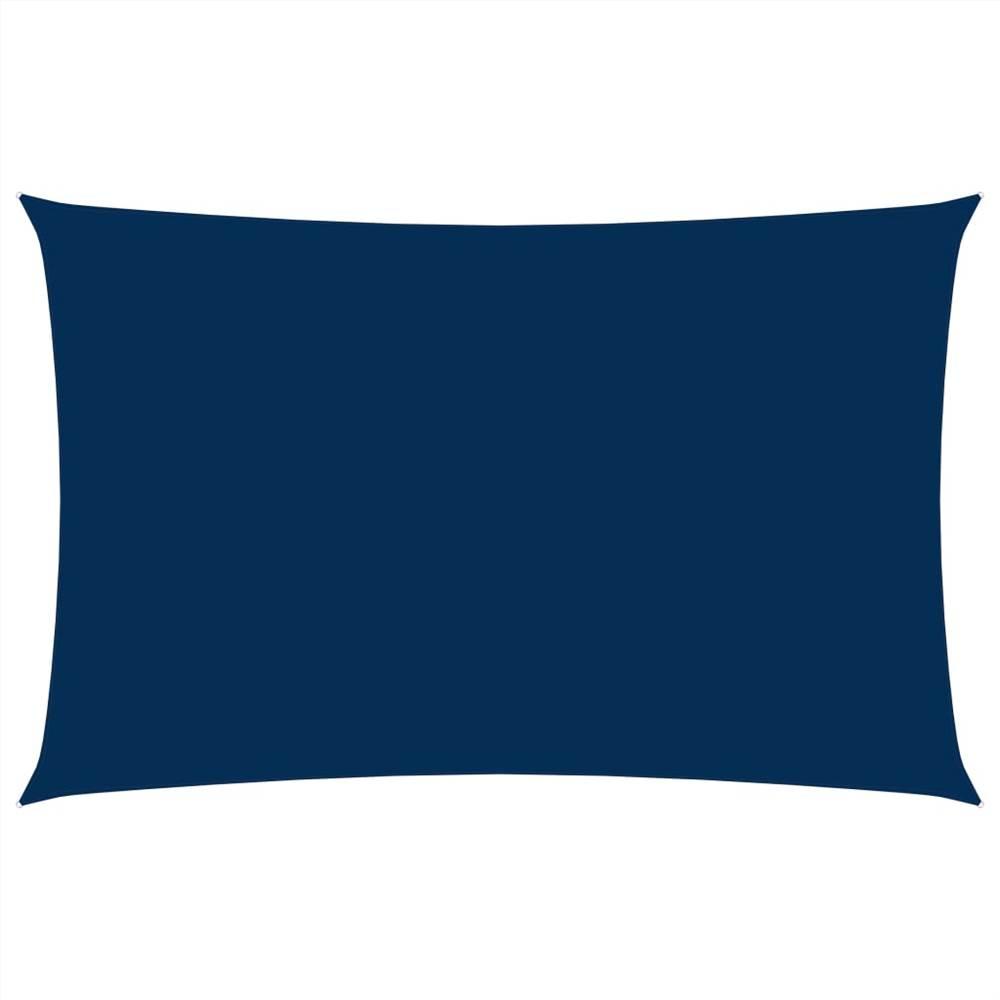 Sunshade Sail Oxford Fabric Rectangular 2x5 m Blue