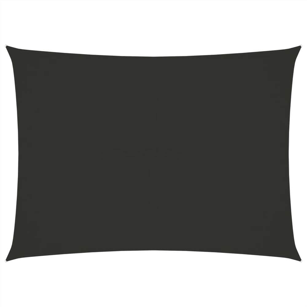 Sunshade Sail Oxford Fabric Rectangular 3x4.5 m Anthracite