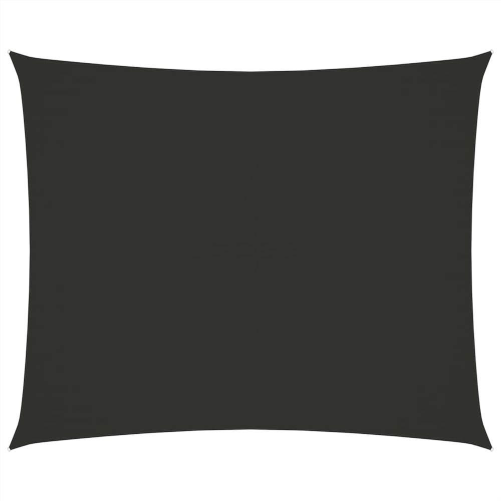 Sunshade Sail Oxford Fabric Rectangular 3x4 m Anthracite