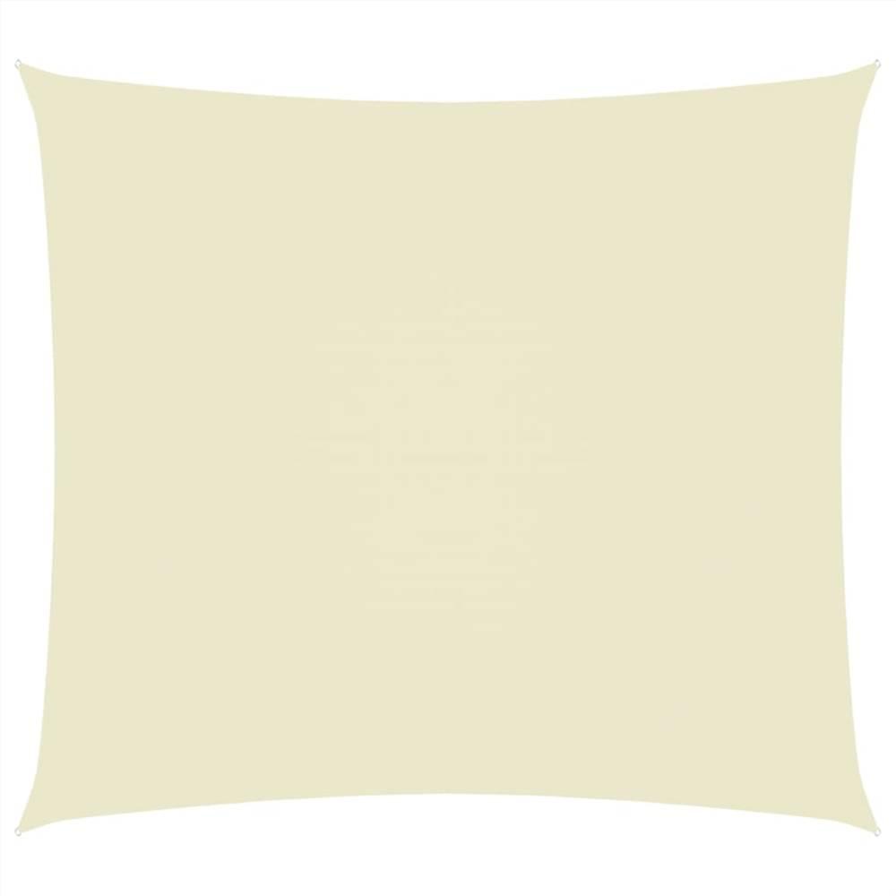 Sunshade Sail Oxford Fabric Rectangular 3x4 m Cream