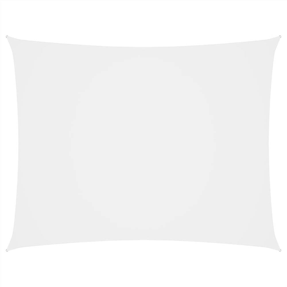Sunshade Sail Oxford Fabric Rectangular 3x4 m White