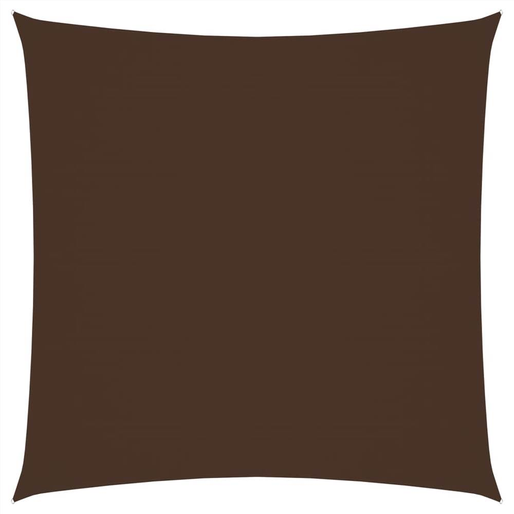 Sunshade Sail Oxford Fabric Square 2.5x2.5 m Brown