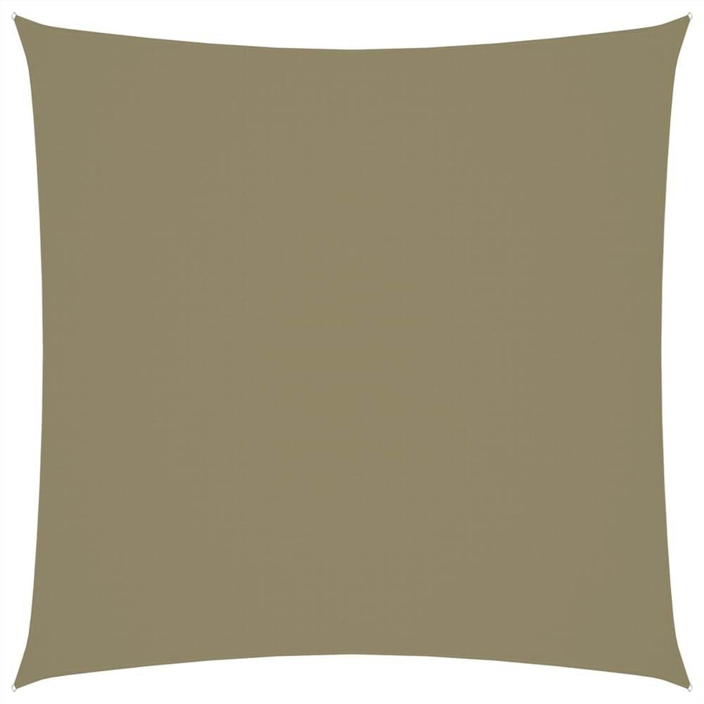 Sunshade Sail Oxford Fabric Square 4.5x4.5 m Beige