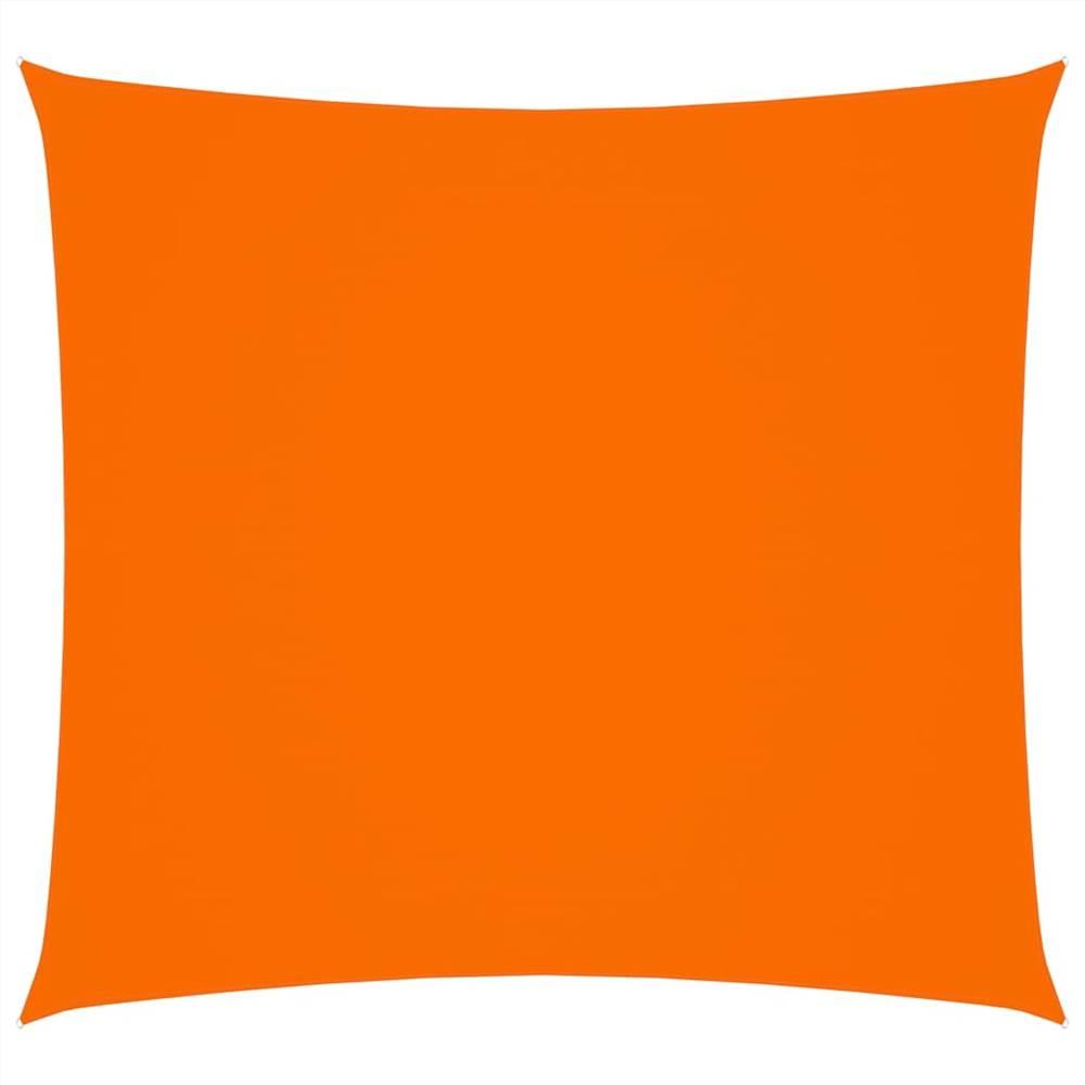 Sunshade Sail Oxford Fabric Square 6x6 m Orange