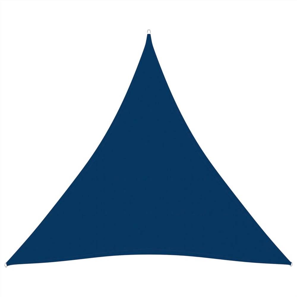 Sunshade Sail Oxford Fabric Triangular 4x5x5 m Blue