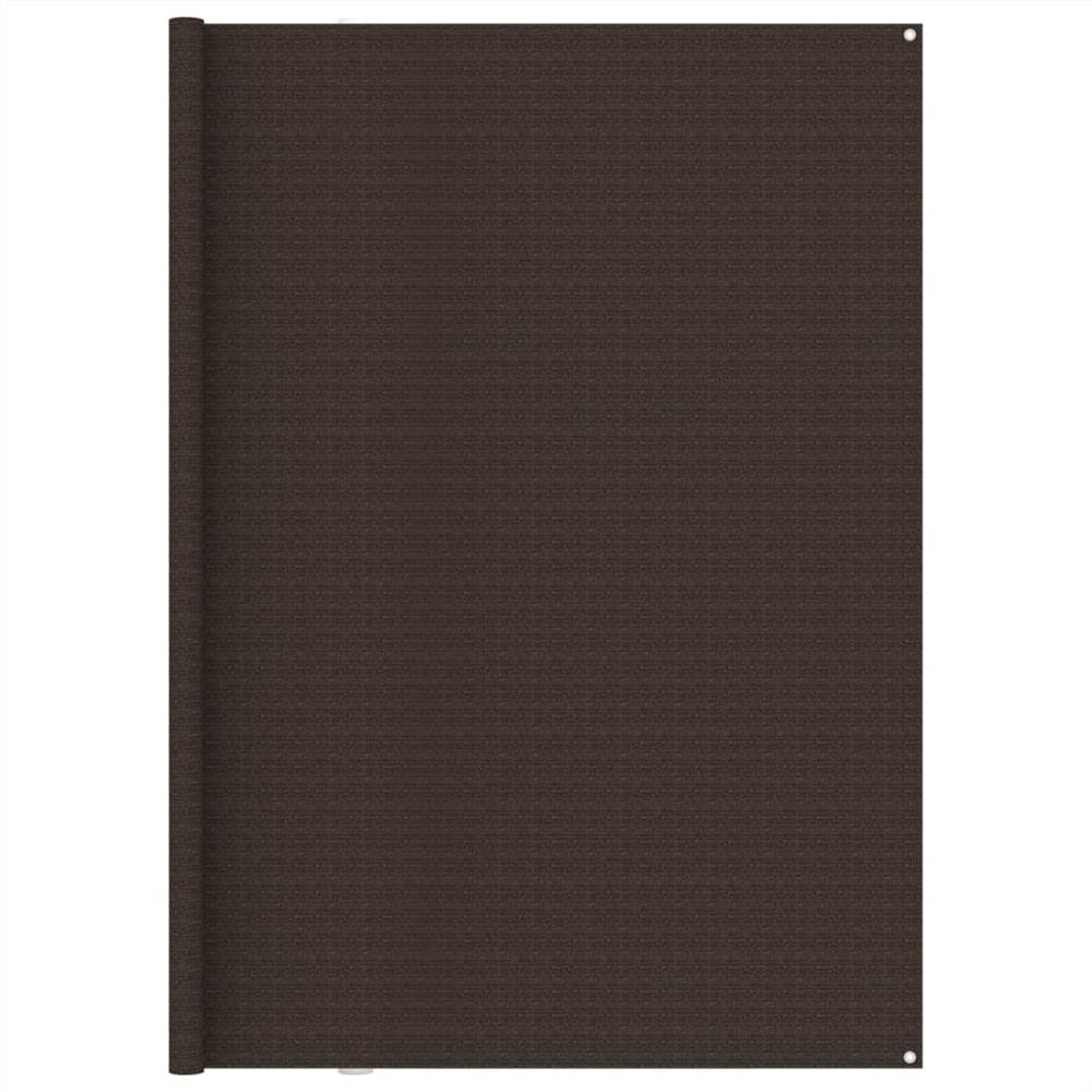 Tent Carpet 250x500 cm Brown