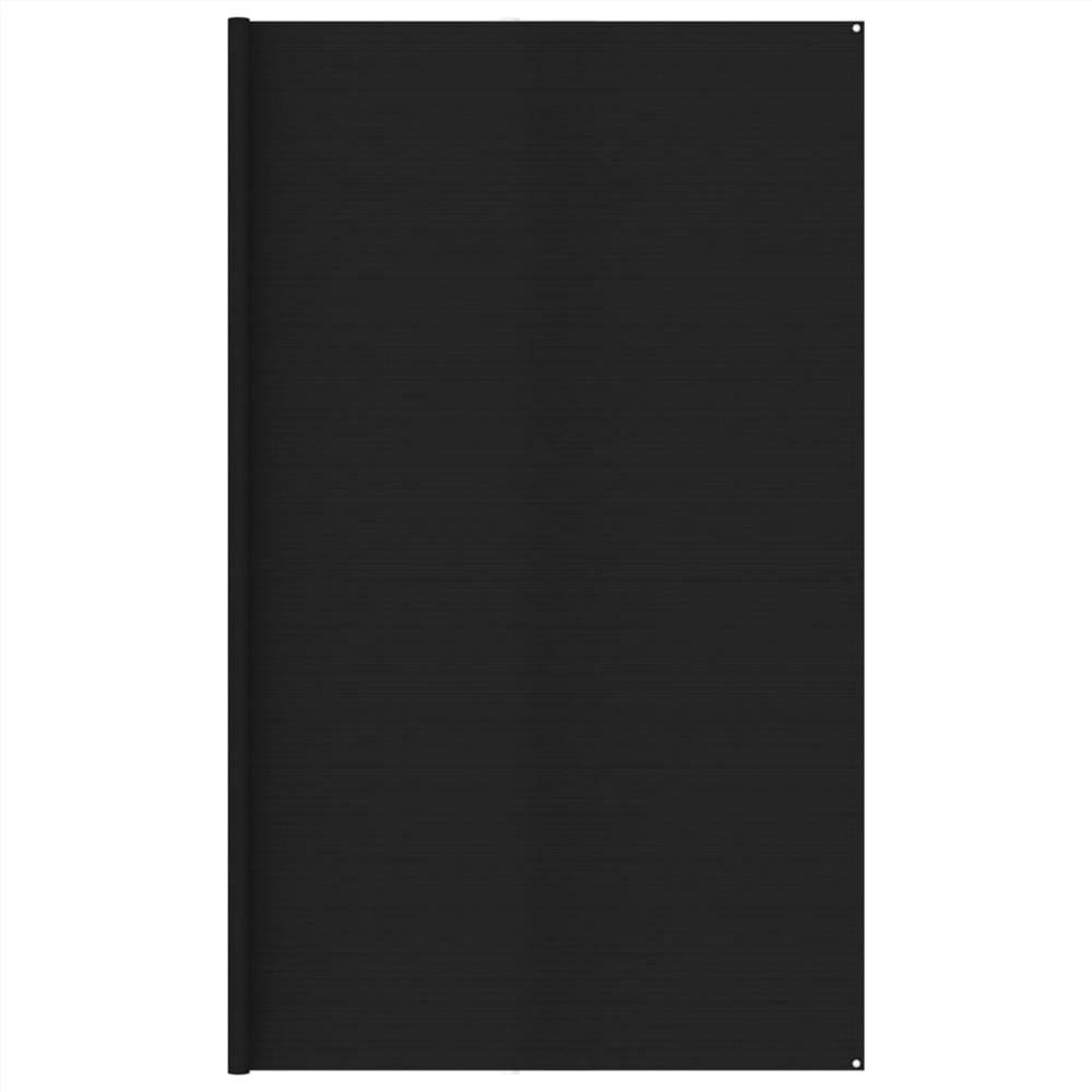 Tent Carpet 400x500 cm Black