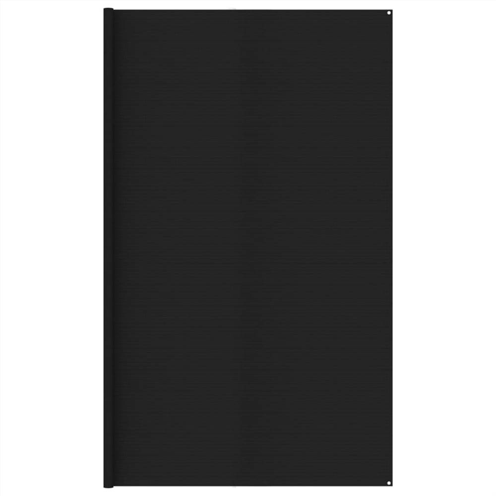 Tent Carpet 400x600 cm Black