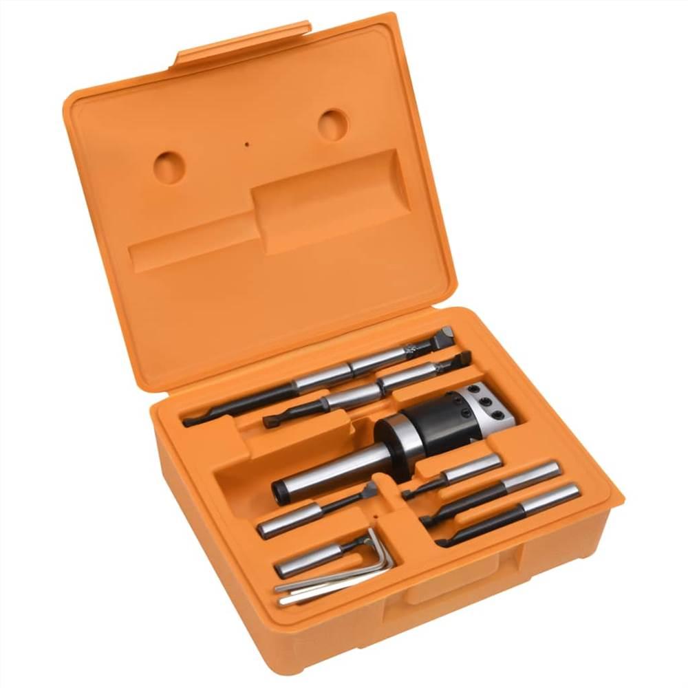 15 Pieces Boring Tool Set 50 mm Boring Head MT3-F1-12