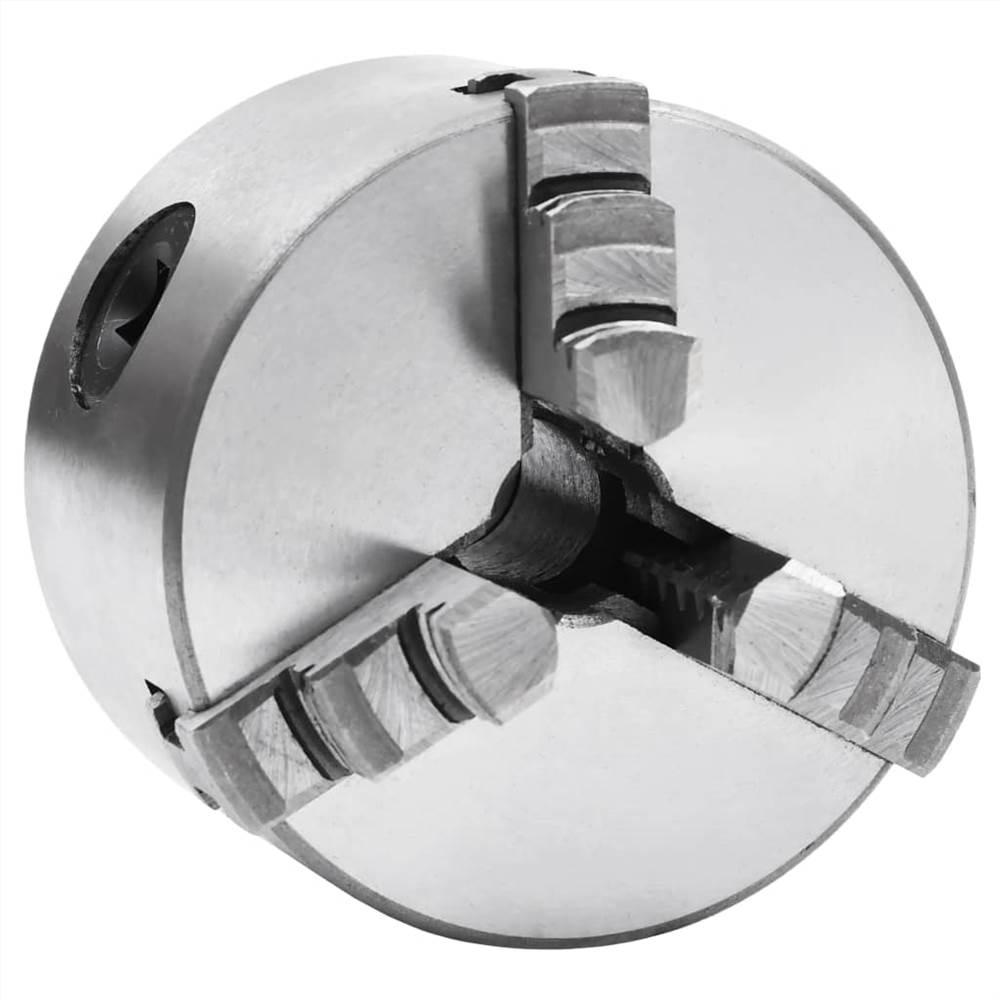 3 Jaw Self-Centering Lathe Chuck 80 mm Steel