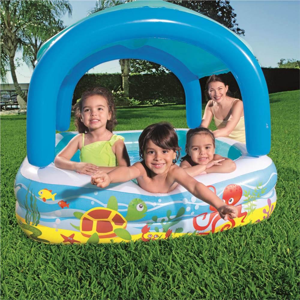 Bestway Canopy Play Pool Blue 140x140x114 cm 52192