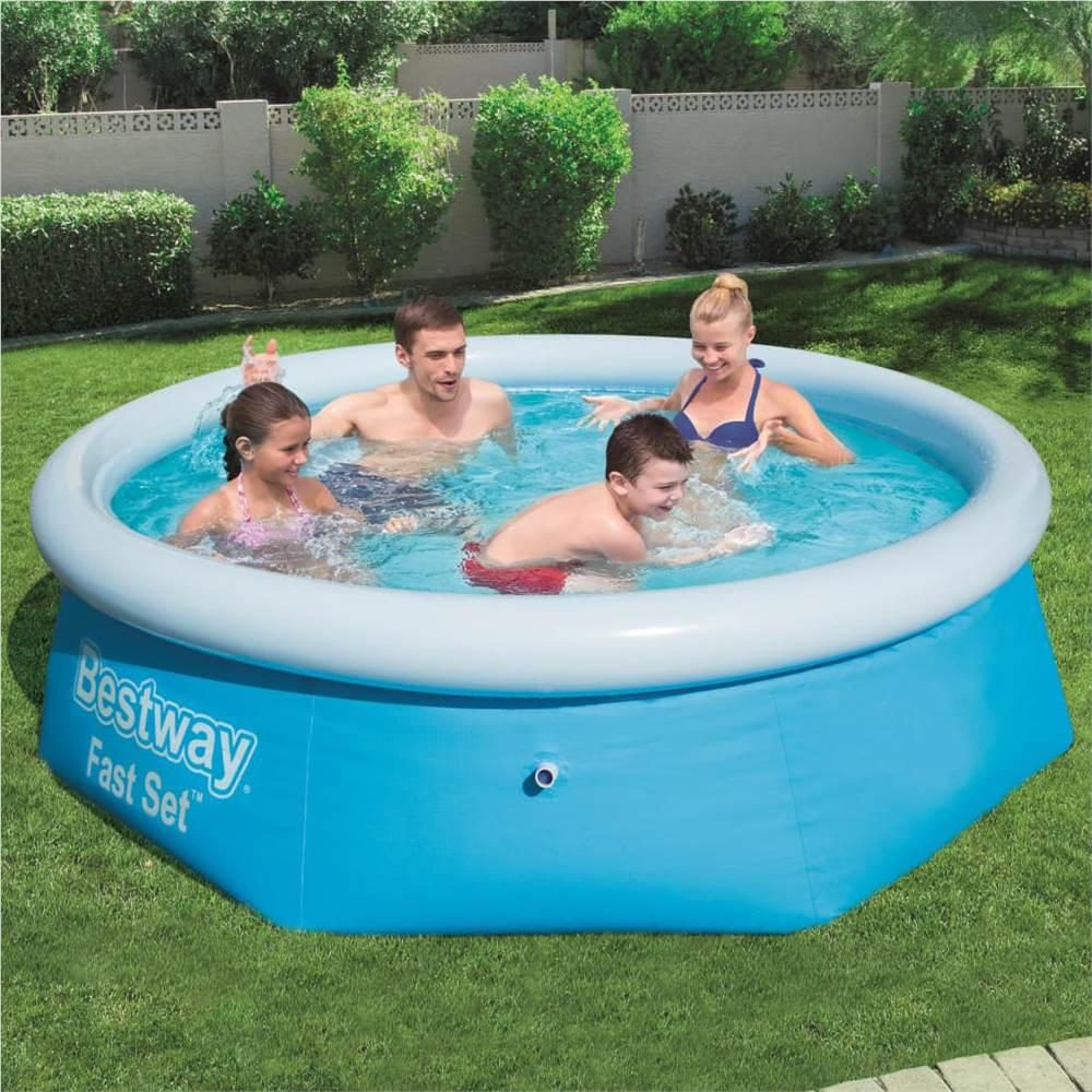 Bestway Fast Set Swimming Pool 244x65 cm 57265