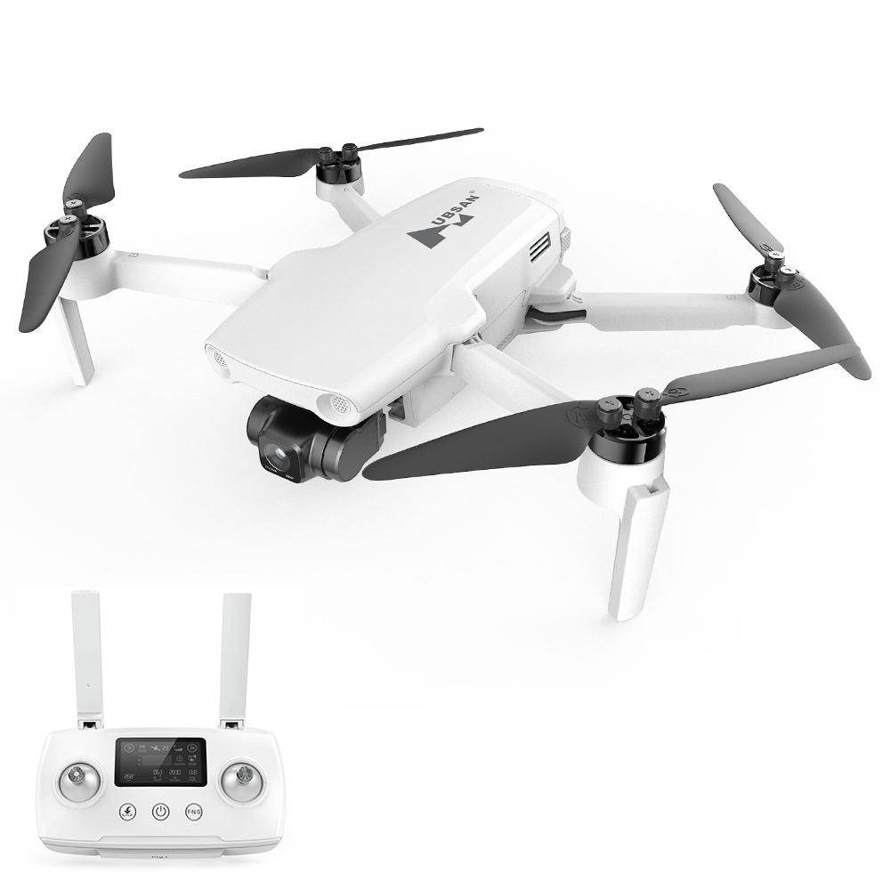 Drone Hubsan Zino Mini SE GPS 6KM RC avec caméra 4K 30fps Gimbal 3 axes 45mins Temps de vol Suivi AI - Une batterie