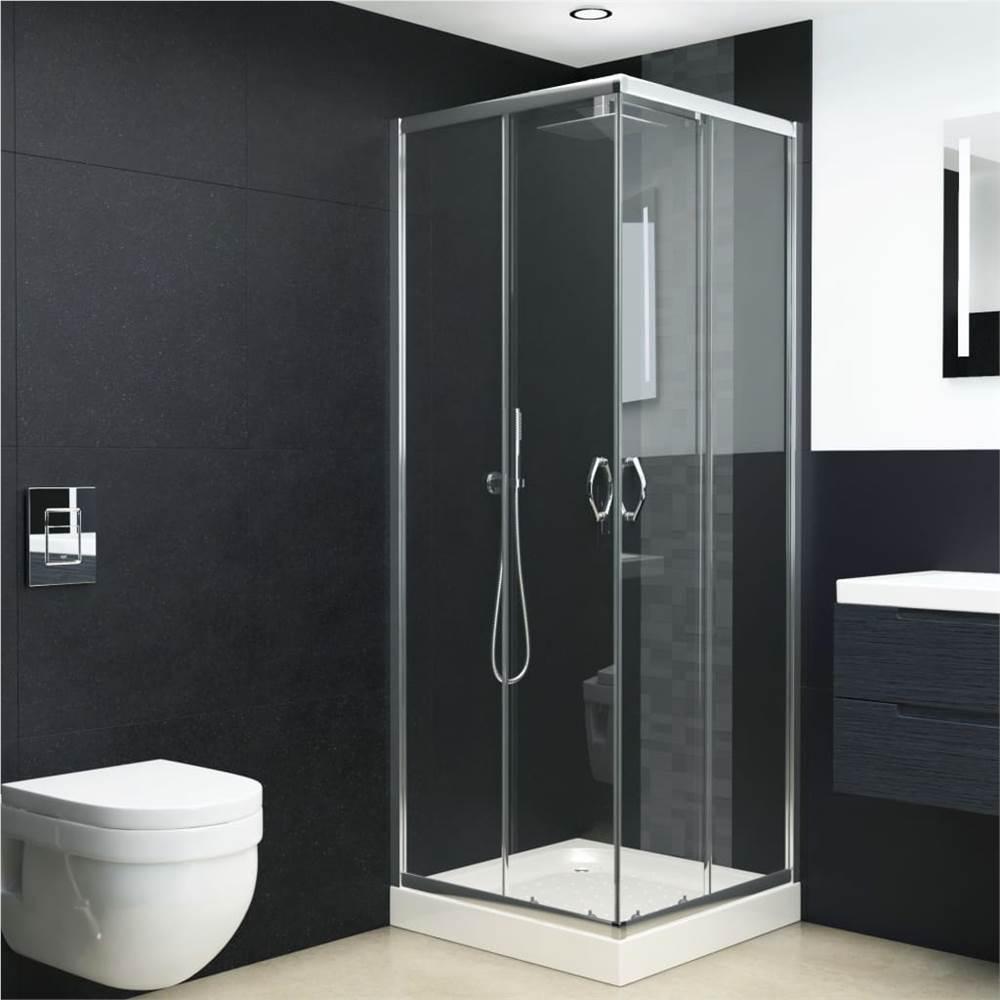 حوض استحمام زجاج أمان 80x80x185 سم