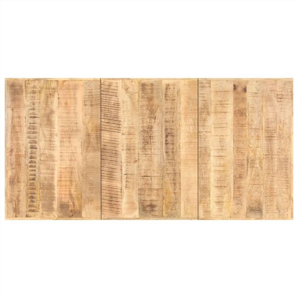 Tampo da mesa em madeira maciça de manga 16 mm 180x90 cm
