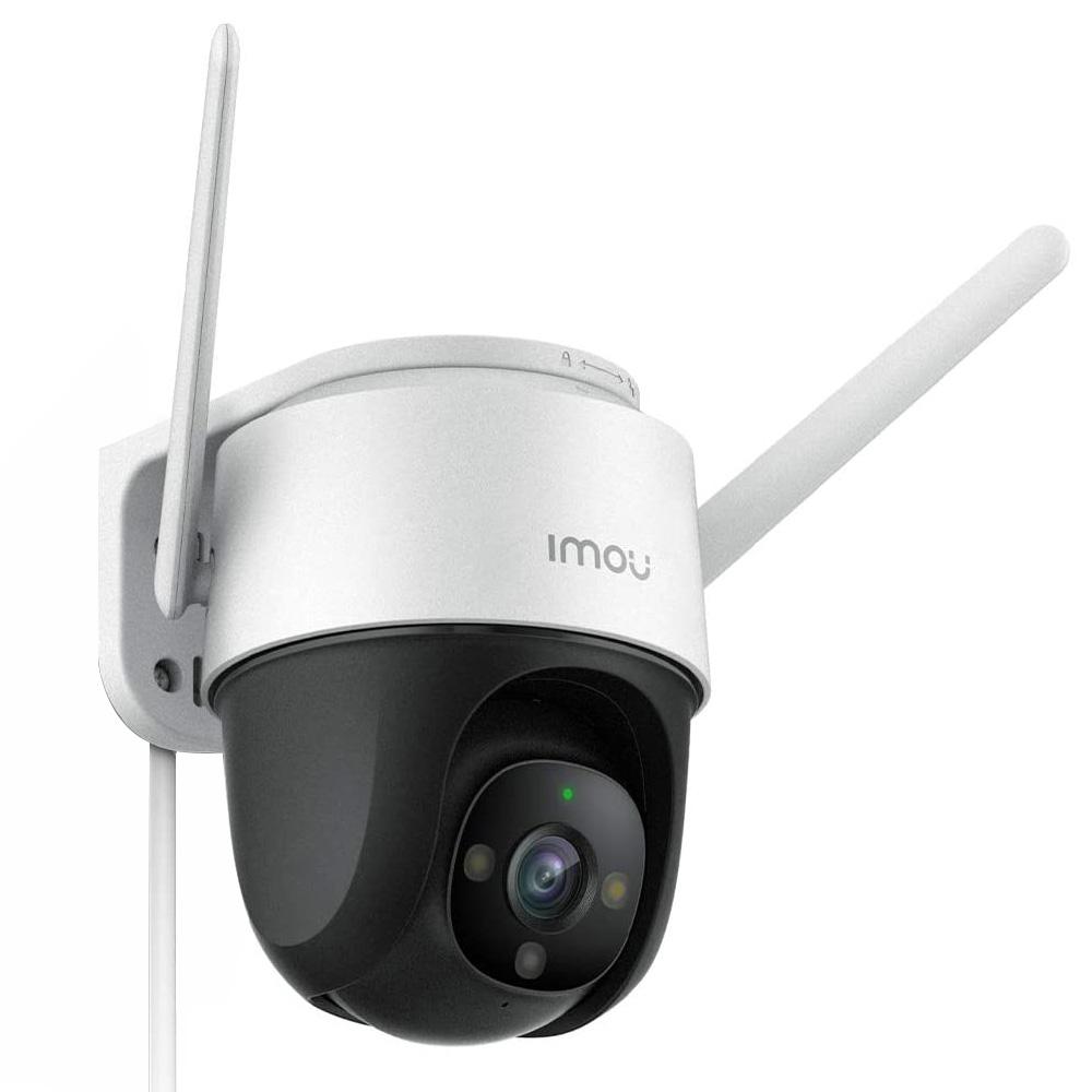 Dahua IMOU Cruiser kültéri biztonsági IP kamera 1080P FHD éjszakai látás IP66 időjárásálló, fényvisszaverővel és hangriasztással, H.265 tömörítési otthoni vállalat biztonsági monitor - fehér