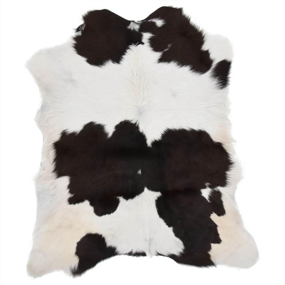 Calfskin Mixed Black and White 70x100 cm