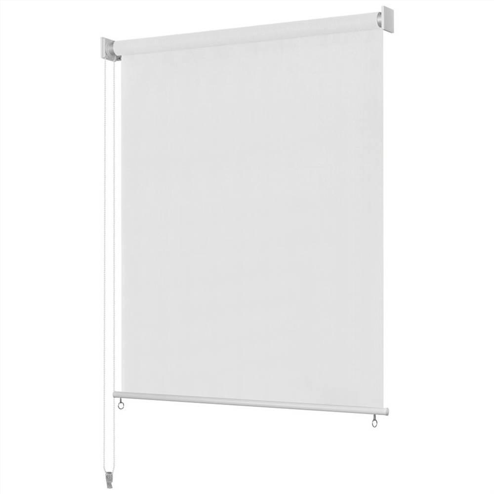 Außenrollo 140x230 cm Weiß