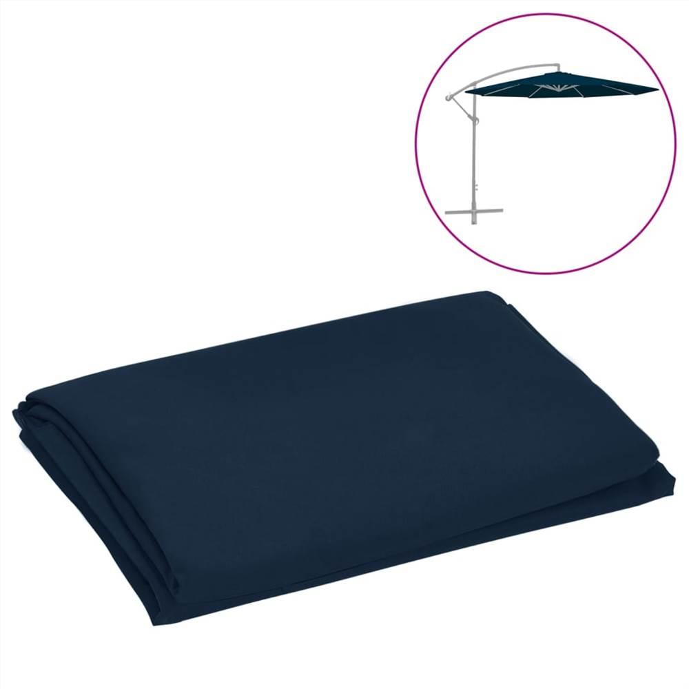 Ersatzstoff für Cantilever Regenschirm Blau 300 cm