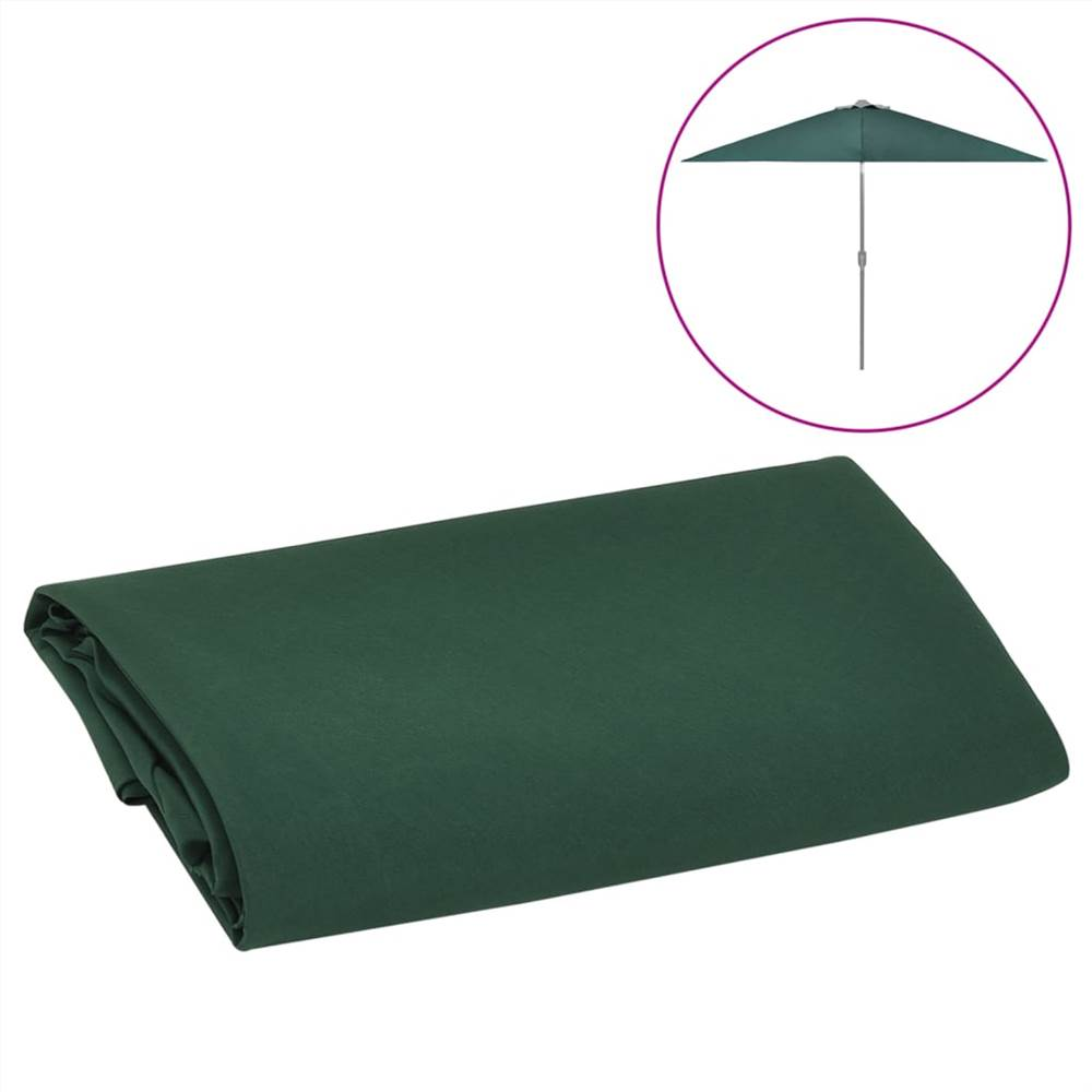 Replacement Fabric for Outdoor Parasol Green 300 cm