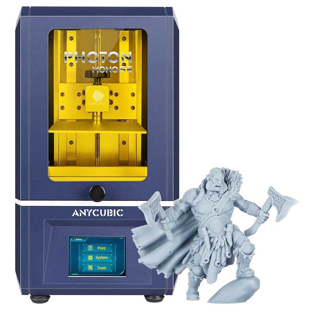 Anycubic Photon Mono SE 3D Printer 10x78x160mm Build Volume LCD SLA UV Resin with APP Remote Control/ 14x Printing Speed
