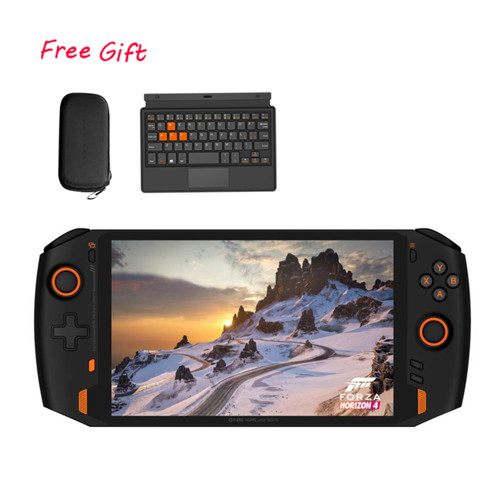 หนึ่งเน็ตบุ๊ก ONEXPLAYER 1S เกมคอนโซล PC 8.4 นิ้วคอมพิวเตอร์พกพา i7-1195G7 16G RAM 1TB SSD IPS Touch Screen Windows 10 EU Plug