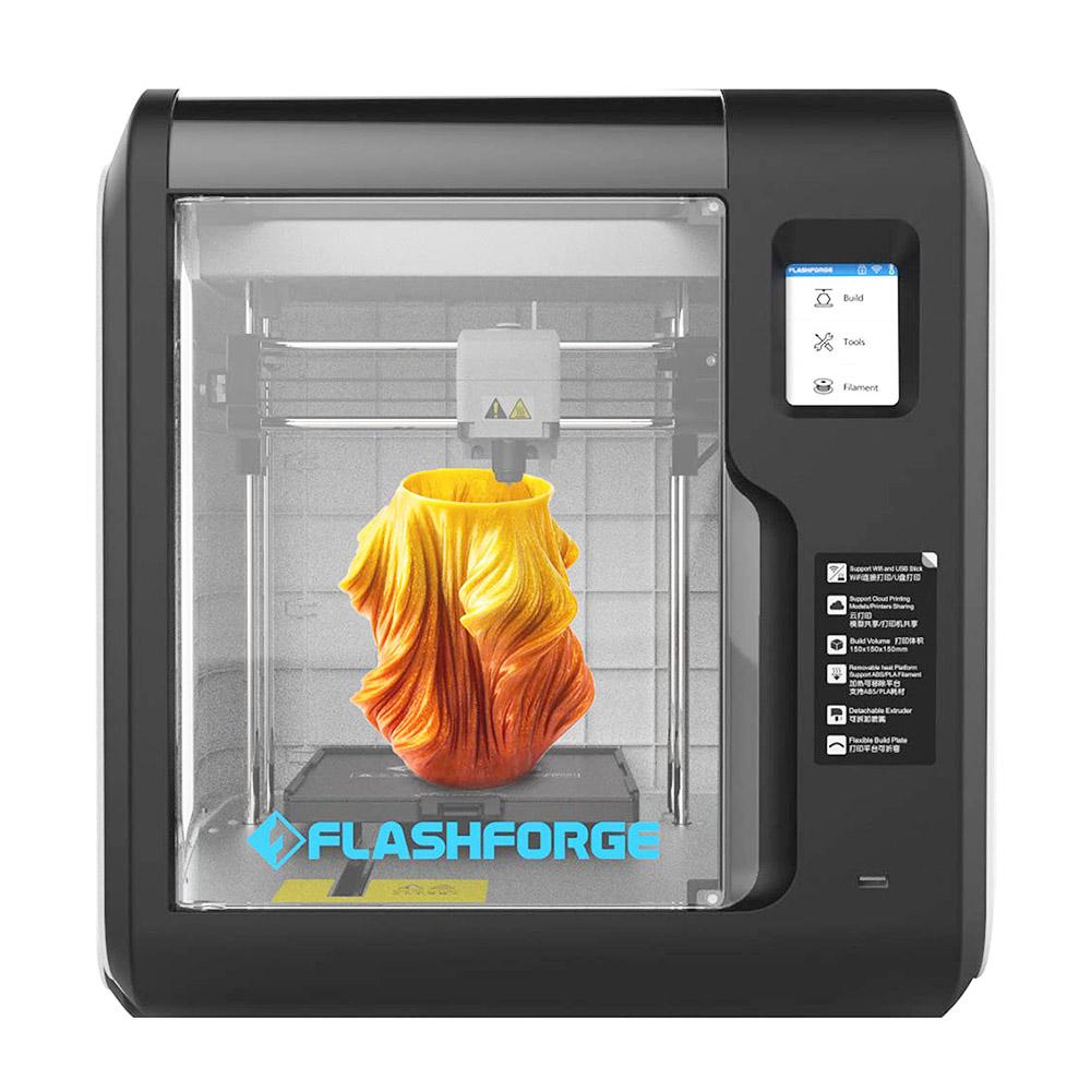 Flashforge Adventurer 3 3D Printer Auto Leveling Quick Removable Nozzle Ultra-Mute Cloud Printing