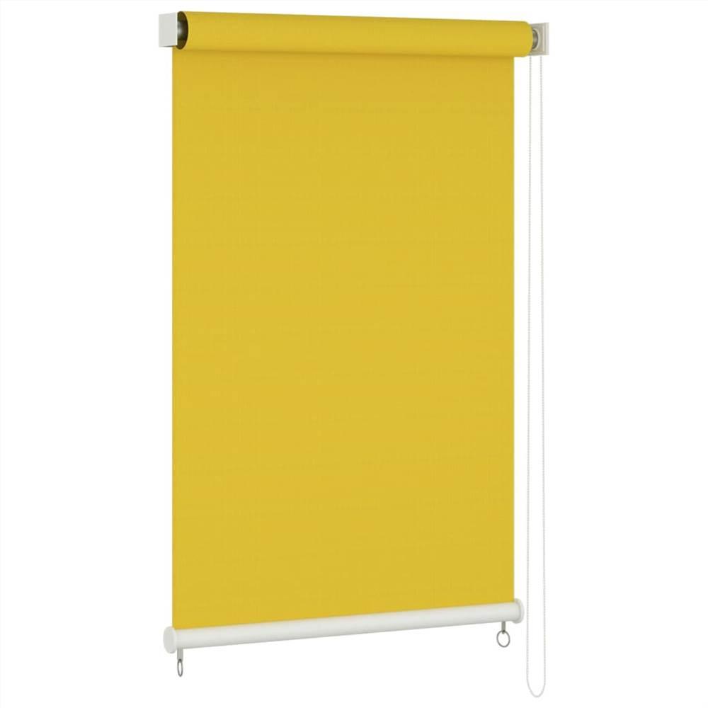 Outdoor Roller Blind 60x230 cm Yellow