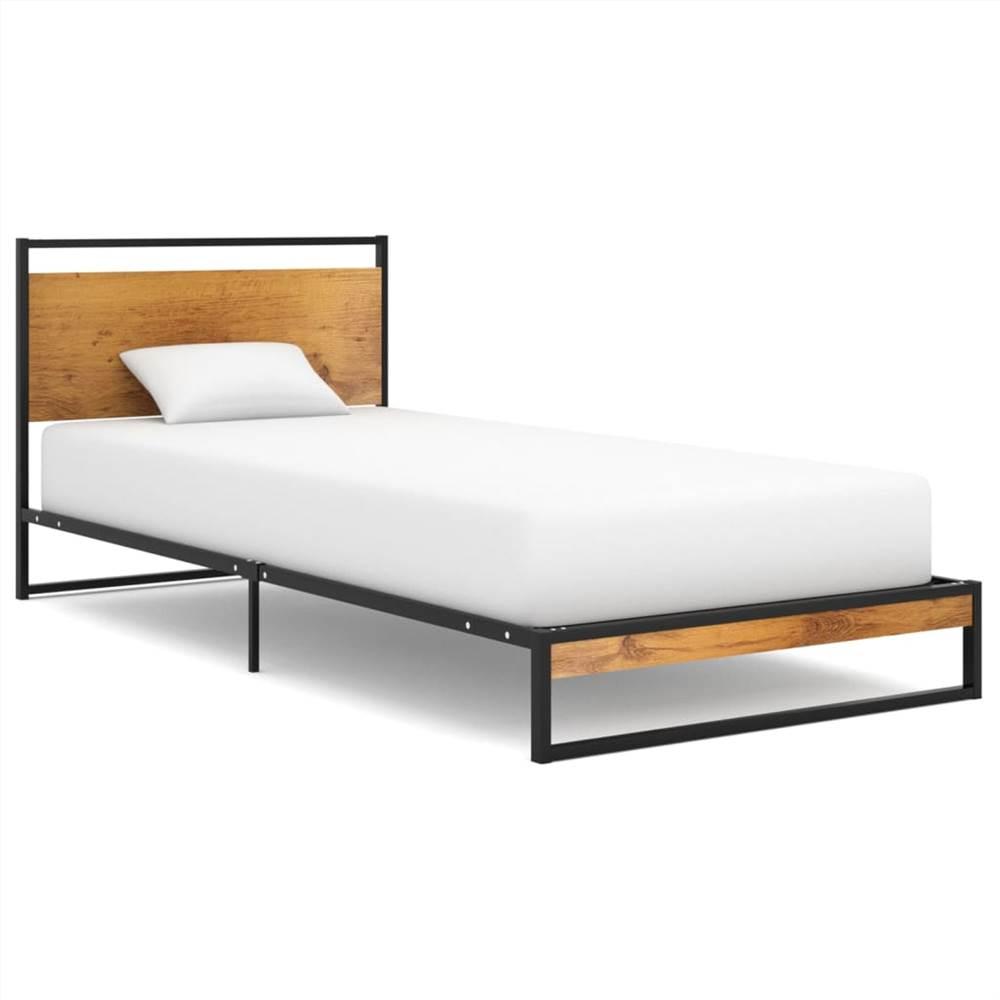 Bed Frame Metal 100x200 cm